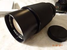 VIVITAR  MC  70-205mm f3.8 ZOOM LENS. multi coated macro fofusing zoom pentax pk