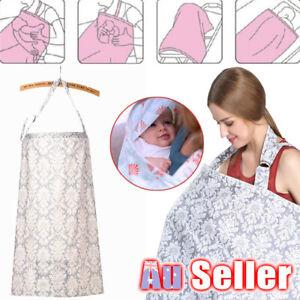 3 in 1 Breast feeding Maternity Baby Nursing Cover Generous Cotton Blanket