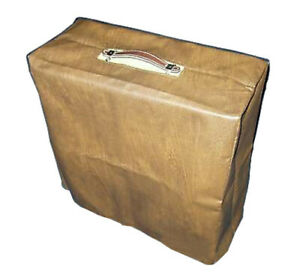 GIBSON BR-6 BR6 1950's VINTAGE COMBO AMP BROWN VINYL AMPLIFIER COVER (gibs001)
