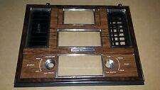 80 81 82 83 84 85 Cadillac Seville dashboard Radio Bezel Trim Vents, 1980-1985