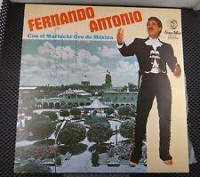 Fernando Altonio con el Mariachi Oro de Mexico (Fonomex FM-002) Signed
