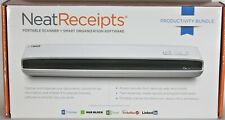 Neat Receipts Mobile Scanner & Digital Filing System NM-1000 Factory Certified