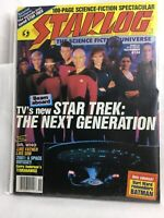 Collectible Starlog Magazine November Issue #124 Star Trek The Next Generation