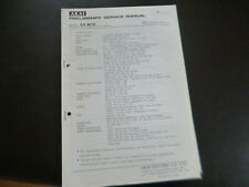 Original Service Manual Schaltplan AKAI GX-M10
