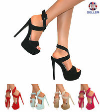 "Women's Stiletto Very High Heel (greater than 4.5"") Formal Shoes"