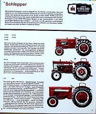 Älteres Blechschild Traktor Schlepper Mc Cormick  gebraucht used  nur noch 6x da