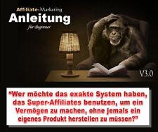 Affiliate-Marketing Anleitung für Beginner - PLR-/Reseller-Projekt