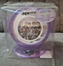 Vintage Rare Nsync 22 Pc Swivel Storage Mirror with Stand-New