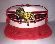 Vtg Mack Truck Bulldog Snapback hat cap MADE IN USA trucker 70s 80s Rare
