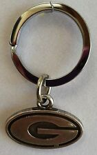 University of Georgia UGA Dawgs College Football Silver Charm Key Chain FreeShip