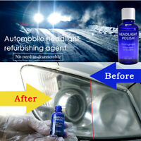 9H Headlight Cover Len Restorer Repair Liquid Polish Cleaner Car Accessories 1x