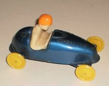 """Vintage 50's Pyro Blue Hard Plastic """"SOAP BOX SUPERSONIC""""  Race Car With Driver"""