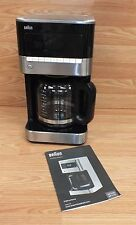 Braun (KF 7150) Black Brew Sense 12 Cup Drip Coffee Maker Bundle **READ**