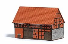Busch 1506 H0 Bauernhof: Scheune mit kleinem Stall NEUHEIT 2016 OVP -
