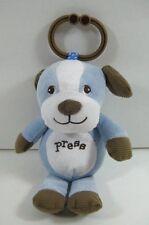 """Garanimals Blue PUPPY Dog Musical Crib Toy 8"""" Rock A Bye 86352 B170"""