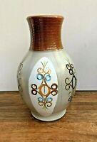 "Bourne Denby 'Freestone' Large Vase, 11"" Tall **1950s Retro**"