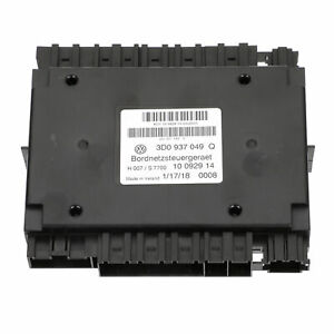 OEM NEW 2003-2018 Bentley Continental Central Supply Control Unit BCM 3D0937049Q