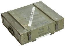 CAJA DE MUNICIONES pmo2 Almacenamiento Cajón MILITAR munitionsbox madera