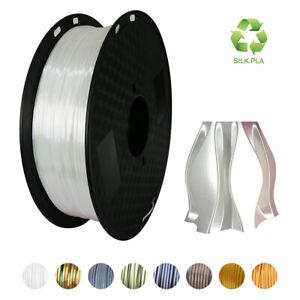 3D Printer Filament 1.75mm Silk PLA 1KG 2.2LB Multiple Color PLA Filament Marker