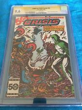 Crisis on Infinite Earths #10 - DC - CGC SS 9.6 NM+ - Signed by George Perez