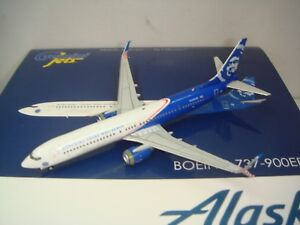 "Gemini Jets 400 Alaska Airlines B737-900ERSWL ""Honoring Those Who Serve"" 1:400"