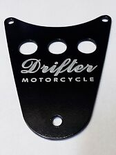 DRIFTER Logo Dash Plaque Cover - KAWASAKI  VN1500  VULCAN