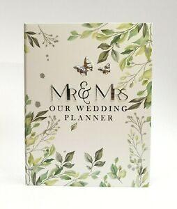 Mr & Mrs Our Wedding Planner Wedding Organiser Diary - Engagement Gift