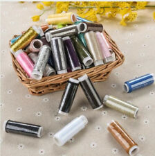 Sewing Threads 50 Spools Mixed Colors Useful for  Purpose Cones Set Daily Life