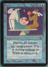 Stasis Alpha NM Blue Rare MAGIC THE GATHERING MTG CARD (ID# 110207) ABUGames