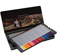 Assorted Watercolor Pencils Water Soluble Colored Pencils For Kids & Adults 72pc