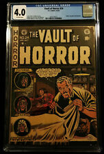 1952 EC Vault of Horror #22 CGC 4.0 Off White Pages