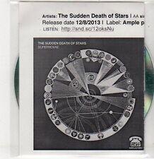 (ER329) The Sudden Death of Stars, Supernovae / Goodbye - 2013 DJ CD