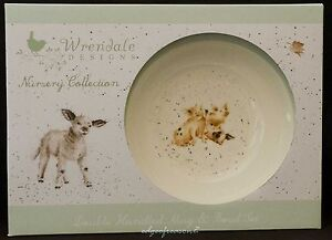 ROYAL WORCESTER WRENDALE DESIGNS 2 PIECE CHILDREN'S NURSERY COLLECTION BOWL CUP