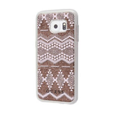 GUESS Soft Case für Samsung Galaxy S7 Schutzhülle Cover Braun mit 3D Effekt NEU