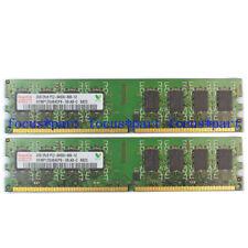 Hynix 4GB 2X2GB DDR2 800MHZ PC2-6400 240pin Dimm RAM Desktop Memory Ram