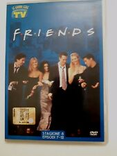 DVD Film Friends Le grandi serie Tv Sorrisi e Canzoni Stagione 8 Episodi 7-12