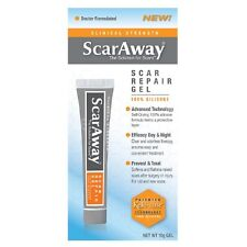 ScarAway Advanced Formula Scar Gel 100% Silicone for Scars 0.35 oz (10 g)