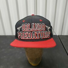 VTG 90's Orlando Predators Arena Football Snapback Hat Cap Embroidered