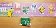 Pokemon Pikachu Pin Badge Nintendo Pocket Monster JAPAN Kyoto Exclusive NEW
