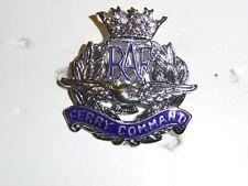 b1580 WW 2 British RAF Ferry Command Cap Badge Royal Air Force Britain UK IR17B