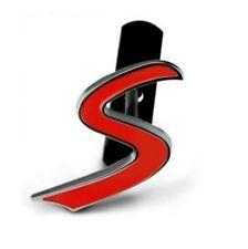 Logo Insigne Emblème Sigle S pour Mini cooper S NEUF en métal pour calandre
