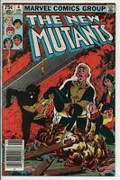 Marvel Comics The New Mutants #4 June 1983 VF