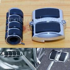 Chrome Gear Shift Rear Brake Pedal Cover For Yamaha V-Star XVS 950 1100 1300 NR