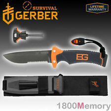 Gerber Bear Grylls Survival Series Ultimate Serrated Edge Knife Sheath 31-000751