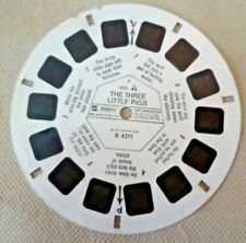 Vintage Viewmaster - Gaf Single Reel B 4211 The Three Little Pigs Reel 1 Only
