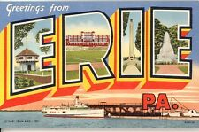 433-A Western Pennsylvania in the 1950's - 24 Early Chrome & Earlier Postcards
