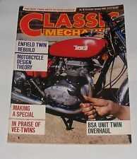 CLASSIC MECHANICS DECEMBER/JANUARY 1986 ISSUE NO.10 - ENFIELD TWIN REBUILD