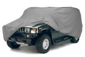 Economy Hummer Cover for Standard H2 w/SpareTire