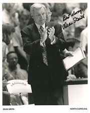 DEAN SMITH pre-printed 8x10 photo    NORTH CAROLINA TARHEELS BASKETBALL COACH
