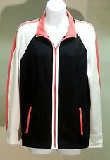 NWT Style&co. Women's Multi-Color Color Block Long Sleeve Jacket Size: M